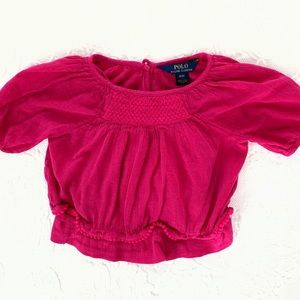 Polo | Lightweight Pink Blouse (3/3T)